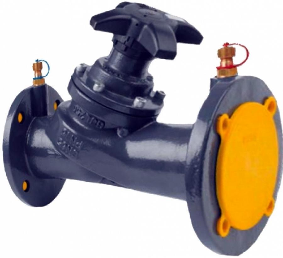 Клапаны ручные балансировочные фланцевые CIM 3739 - Ду 50