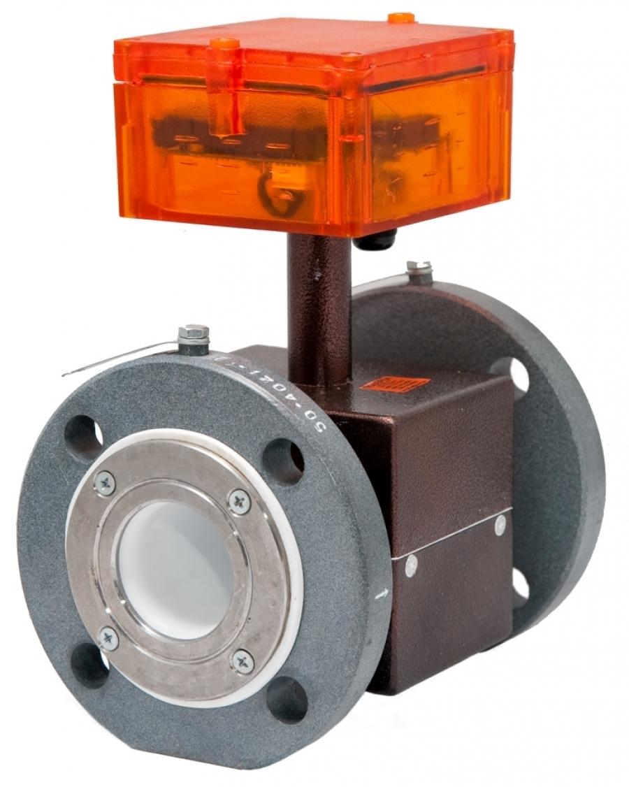 Электромагнитный преобразователь расхода МастерФлоу 5.2 (класс Б) с индикацией Ду 200