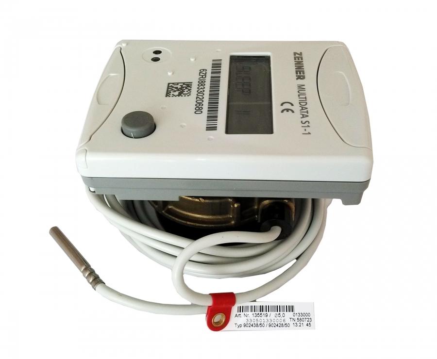Теплосчетчик квартирный Multidata S1-1 Ду 15 Qn 1,5