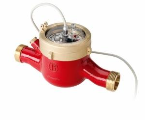 Многоструйный импульсный счетчик горячей воды MTWI-N Ду 40