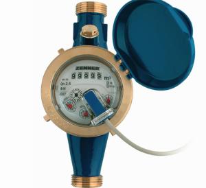 Многоструйный импульсный счетчик холодной воды MTKI-N Ду 50 (фланцевое присоединение)